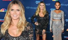 Heidi Klum and Mel B steal the spotlight as they show off physiques