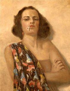 Portrait of a Woman - Gyula Batthyany