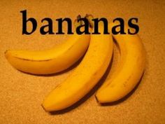 """Bananas - great for making dehydrated """"banana chips"""" for healthy snacking! More at easy-food-dehydrating.com"""