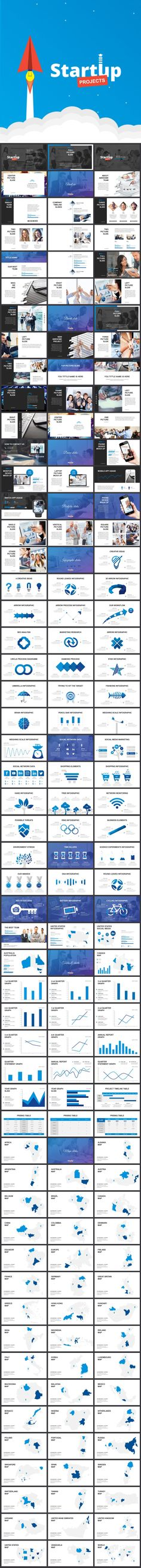 Start Up Projects - Business Keynote Templates