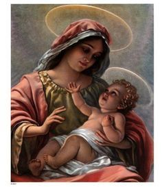 Madonna And Child. ~Counted~ Cross Stitch Pattern~ OR~ Bead Tapestry Pattern ~Computer Generated~. BBXS by BeadedBirdXStitch on Etsy Jesus Mother, Baby Jesus, Mother Mary, Jesus And Mary Pictures, Madonna And Child, Counted Cross Stitch Patterns, Contemporary Paintings, Catholic, Mona Lisa