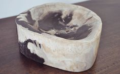 Fossil Stone Bowl - $99.00    http://ayanalifestyle.myshopify.com/products/fossil-stone-bowl