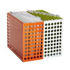 It's festively fashioned from steel to add style and organization to your Life Management Center. Found at The Container Store.