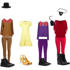 """""""Five Nights At Freddy's Outfits"""" by princessmarmar on Polyvore"""