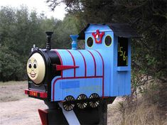 Thomas the Train Mailbox - 17 Unusual and Creative Mailboxes