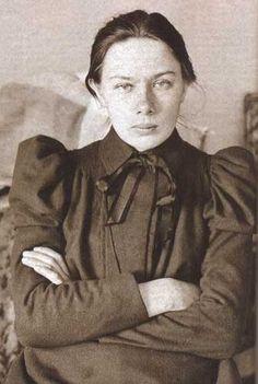 Lenin's wife, Nadezhda Krupskaya, in the 1890s.