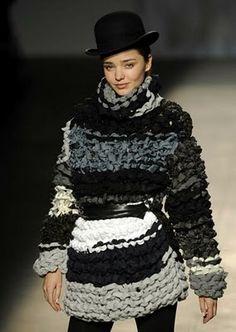 Miriam Ponsa / #chunky #knit