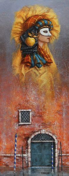 Catherine Chauloux  ~  Le masque à la ponne d'or