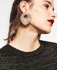 Image 5 of GEM EARRINGS from Zara