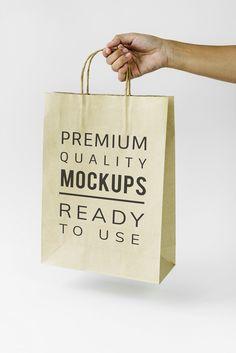 Paper bag mockup | premium image by rawpixel.com