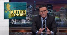 As Scotland prepares for a referendum on Thursday, England native John Oliver pulled out all the the stops to woo the country back.