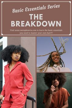 Visit metaphouria.com/blogs to read about our new Basic Essentials Blog Series that's geared at helping you build the foundation to learning and mastering your hair type.