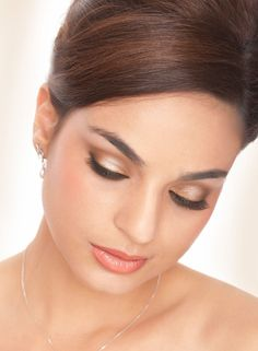 Natural flawless Bridal Make Up