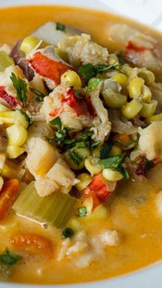 Lobster Corn Chowder Recipe