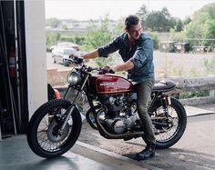 "elegant-apparatus: "" @roto_moto 's Honda CB 500 via @themotocollective  """