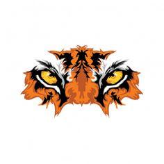 Printed vinyl Eye Of The Tiger Tiger Artwork, Tiger Illustration, Gothic Tattoo, Art Painting Gallery, Tiger Design, Tatoo Art, Tiger Tattoo, Art Logo, Art Sketches