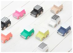 Coches de madera de Kukkia #kukkia #juguetes #juguetesdemadera #ninos #toys #woodentoys #kids #toddlers #Japon #Japan