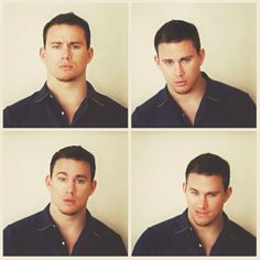 channing tatum.. that face ! !