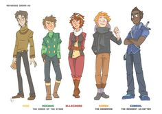 I imagine the old OOTS to be a lot older than they are in this picture. Ivor 48. Magnus 40. Elagard 38. Soren 50. Gabriel 41.