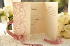 Celebration Gatefold wedding Invitations