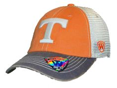 Tennessee Volunteers Top of the World Orange Offroad Flexfit One Fit Hat Cap