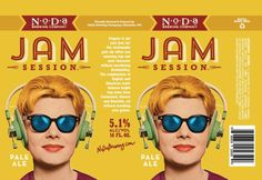 NoDa Brewing Jam Session Can
