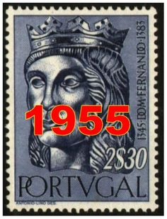 Ano 1955 - Year 1955 Old Stamps, Mail Art, Stamp Collecting, Postage Stamps, Ephemera, Poster, Stamping, Pictures, Collections