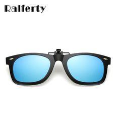#SUNGLASSES #NEW Ralferty Polarized Clip On Sunglasses Over Glasses Men Brand Flip Up Eyeglasses Women Rivet Eyewear Clip UV400 Unbreakable…