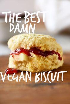 The Best Damn Vegan Biscuit!