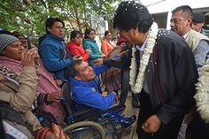 Evo entrega centro para discapacitados y anuncia 6 millones por municipio