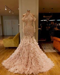 Apr 2020 - Turkish 2020 New Evening Dresses With Feathers Glitter Sequins Couture Dubai Prom Dress Customize Saudi Arabia Party Gowns Aibye Sequin Evening Dresses, Long Sleeve Evening Dresses, Prom Dresses Long With Sleeves, Gala Dresses, Event Dresses, Evening Gowns, Formal Dresses, Occasion Dresses, Chiffon Dresses