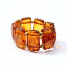 Flexible Ring Honey Amber   Honey Amber Rings AmberSOS