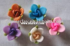 new polymer clay decoration flowers accessory