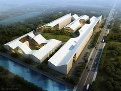 Sichuan International Glass Art Factory and Innovation Centre 01