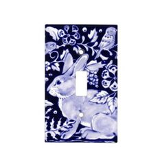 Rippling Tropical Blue Water Light Switch Cover | Zazzle.com Glass Ceiling Lights, Blue Pottery, Water Lighting, French Country Style, Light Switch Covers, Delft, Artwork Design, Wood Wall Art, Chinoiserie