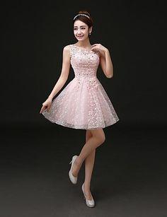 Vestido - Mini Linha-A - Jóia de 2015 por R$342,86