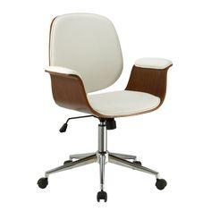 Porthos Home Idalia Office Chair (White)