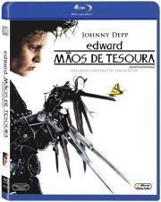 Blu Ray de Edward, mãos de tesoura.