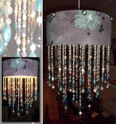 Homemade chandelier | Diy - Creative ideas | Pinterest | Homemade ...