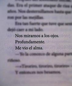 """- Arte De Amar (@artede.amar) en Instagram: """"Me vio el alma... #artedeamar #frases #amor #poesia"""""""