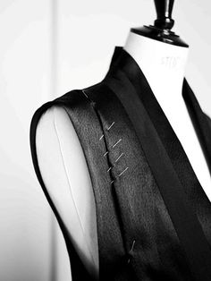 Atelier couture, Sewing, Fashion in the Making - fashion design studio behind the scenes; garment construction; moulage; dressmaking // Damir Doma