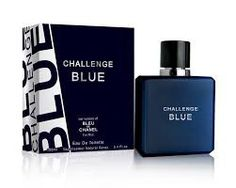 Free Shipping~! Challenge Blue Perfume for Men-Our version of Bleu de Chanel 100ml (Impression Perfume)