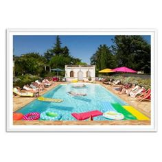 Check out this item at One Kings Lane! Pool in Bordeaux, France, Oversize