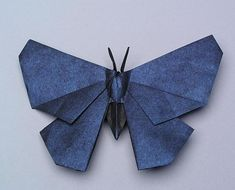 Origami butterfly origami tutorial taught you how to make origami diagrams Butterfly