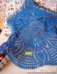 Inspirações de Croche com Any Lucy: Bolero