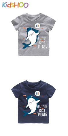 Toddler Boy Shark T-shirts Baby Boy Clothing Sets, Cool Baby Clothes, Kids Clothes Boys, T Shirts With Sayings, Boys T Shirts, Babe T Shirt, Shark T Shirt, Tee Shirt Designs, Fishing T Shirts
