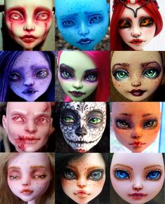 EDIT: closed currently, will update when I am taking them again. So, I'd like to do some custom Monster High repaint commissions. I also have an Etsy shop, where you can request custom repaints. ww...