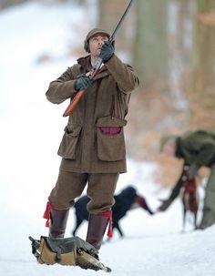 Laksen Woolard Tweed Shooting Jacket