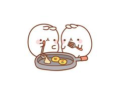 #molang #kawaii -- Make Korea style Pancake