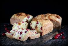 Apricot-cranberry quick bread, from With a Grateful Prayer and a Thankful Heart.